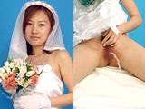 恍惚に浸る失禁花嫁